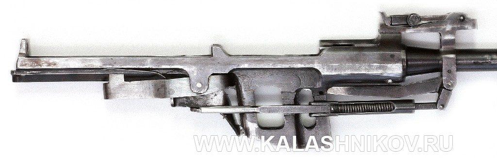 ствол со ствольной коробкой самозарядного карабина Калашникова и Петрова (ССКП)