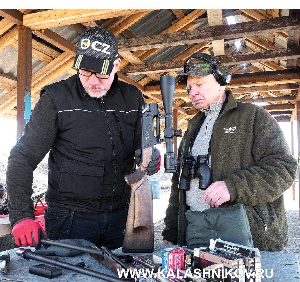 Смена ствола карабина Strasser RS 14 Evoluiton