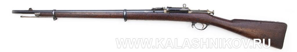 4,2-лин. магазинная переделочная винтовка с ускорителем заряжания Александра конструкции Бердана 1870г.