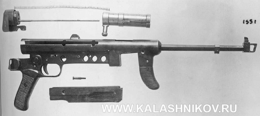 Полная разборка пистолета-пулемёта Зайцева третьей модели
