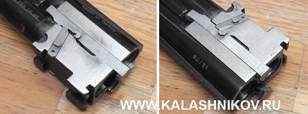 муфта блока стволов ружья Kral Arms M27E