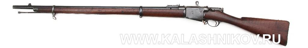 4,2-лин. магазинная переделочная винтовка конструкции Бердана-Игнатовича модели 1885г.
