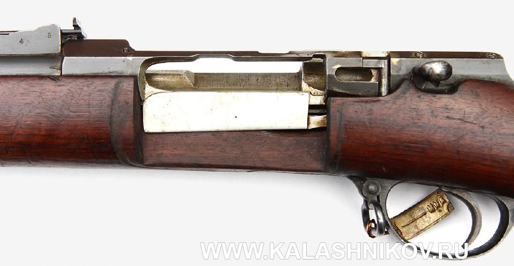4,2-лин. магазинная переделочная винтовка конструкции Бердана-Игнатовича 1885г. Без магазина