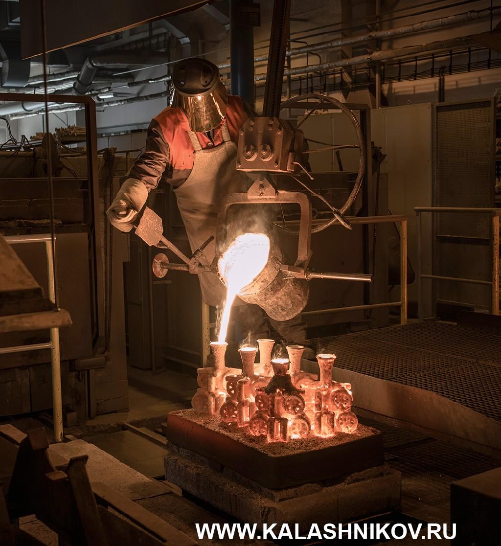 точное литье на производстве CZ. Фото 5