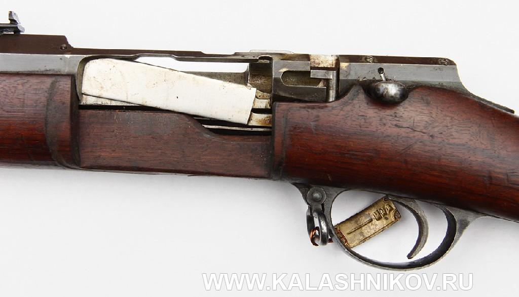 Разобщитель 4,2-лин. магазинной переделочной винтовки конструкции Бердана-Игнатовича 1885г.
