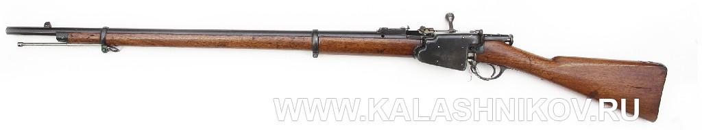 4,2-лин. магазинная переделочная винтовка конструкции Бердана-Игнатовича 1886г.