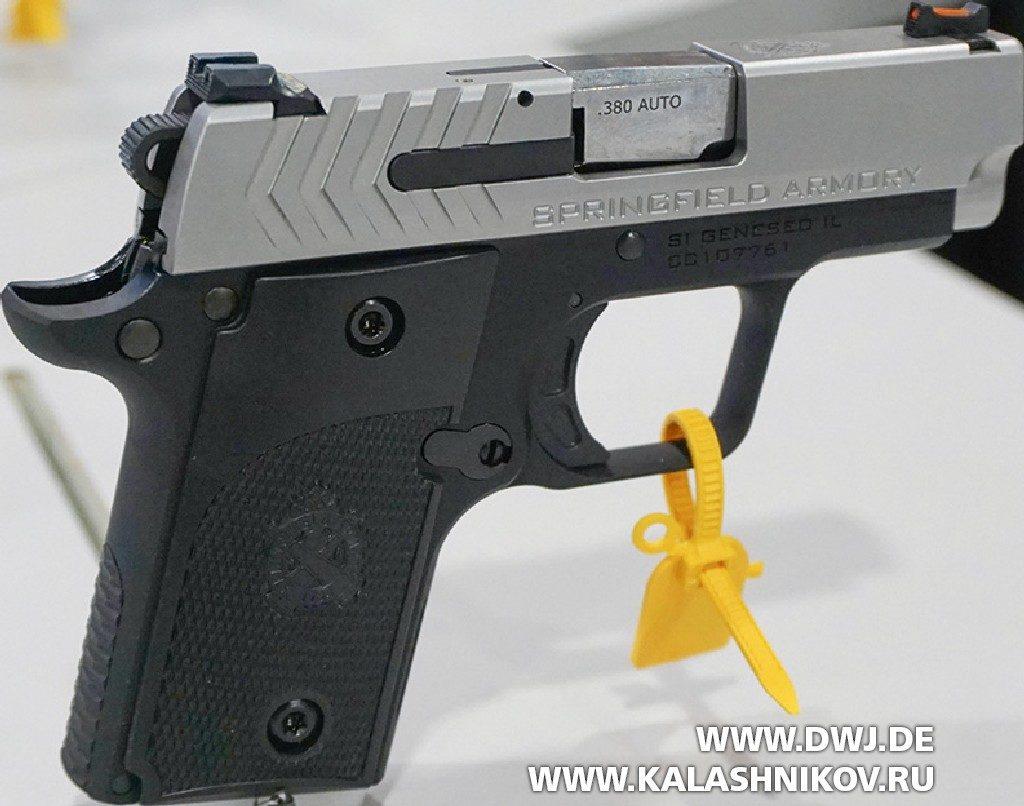 пистолет Springfield Armory 911 SHOT Show 2019