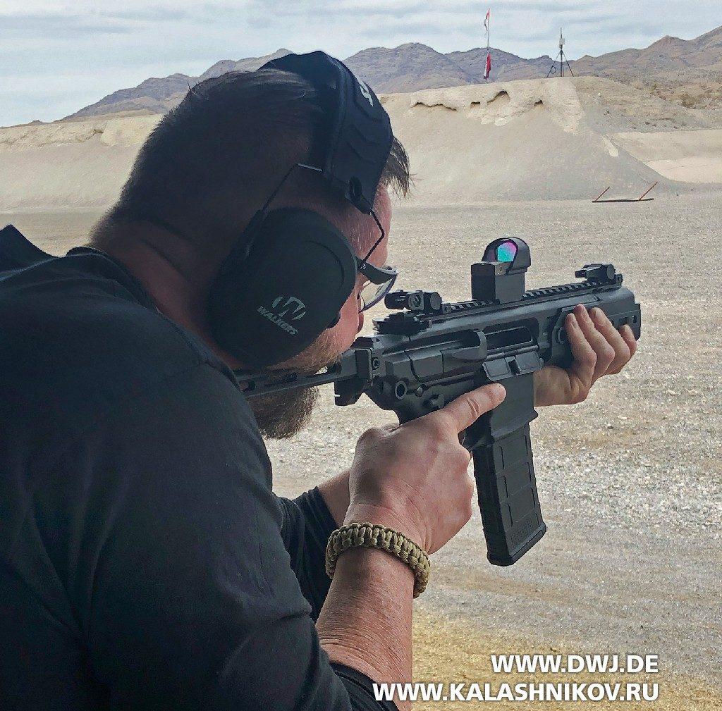 пистолет-пулемёт MCX Rattler SHOT Show 2019