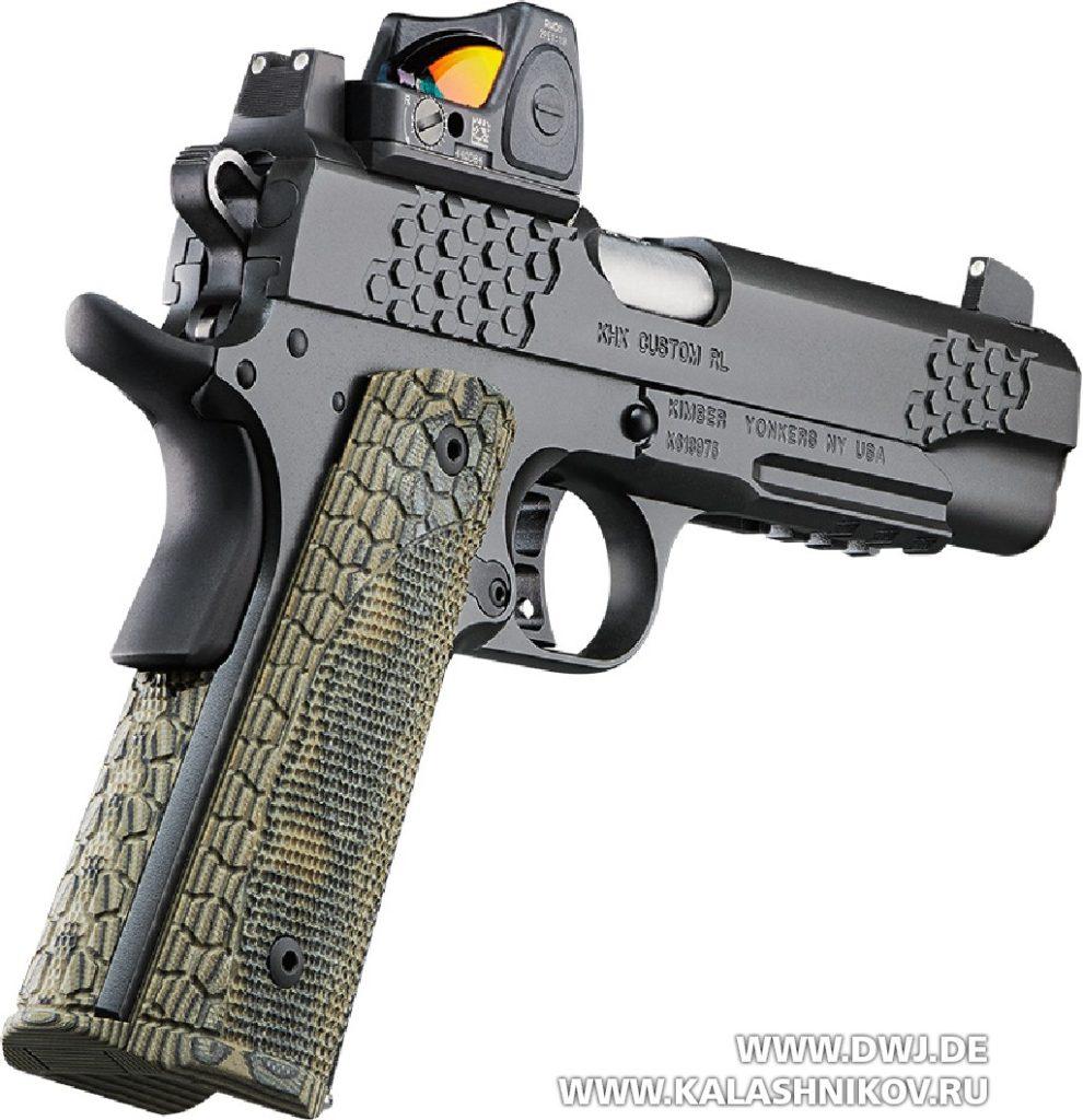 пистолет Kimbers KHX Costum RL SHOT Show 2019