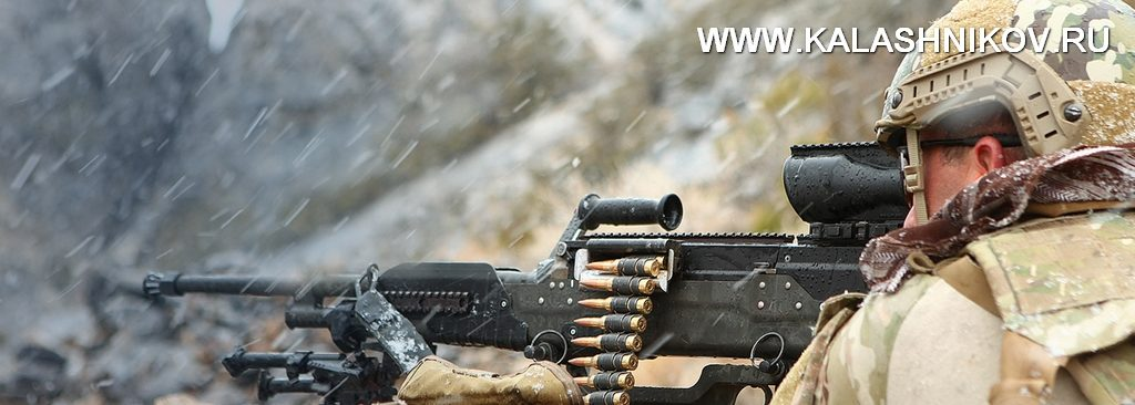 Пулемёт LWMMG калибра .338 Norma Magnum