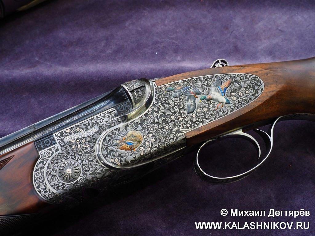 Beretta SOSparviere, булино, эмаль, колелкционное оружие
