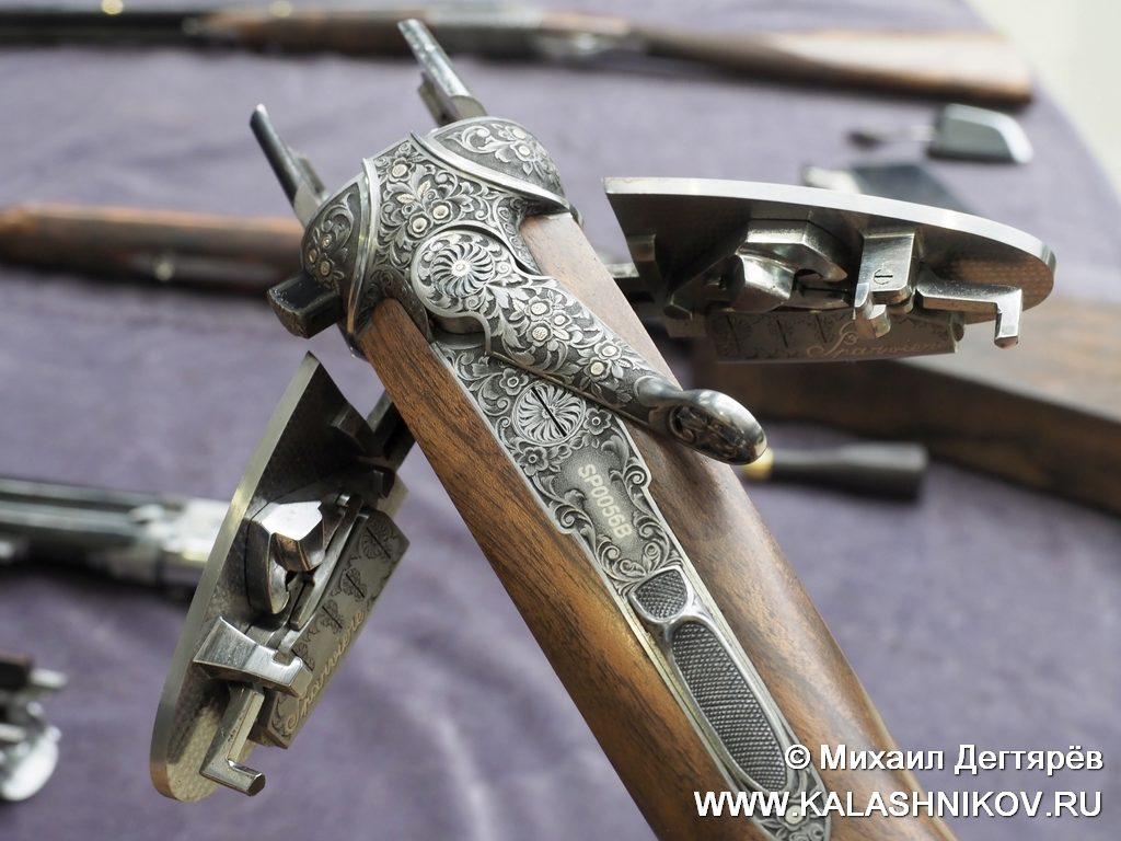 Beretta SOSparviere, ружьё, замки на досках, shotgun