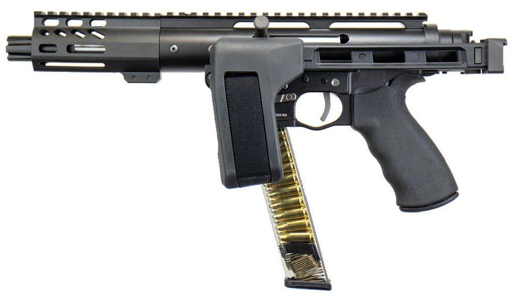 Пистолет-карабин TAC-9, SBM4