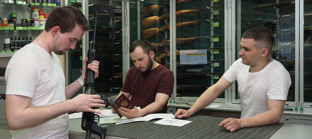 программа первое ружьё, оружейный магазин Барс, Кирилл Кондратюк