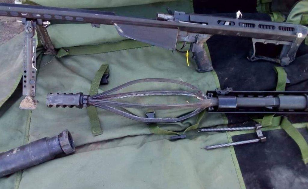 Barrett M82, разрыв ствола