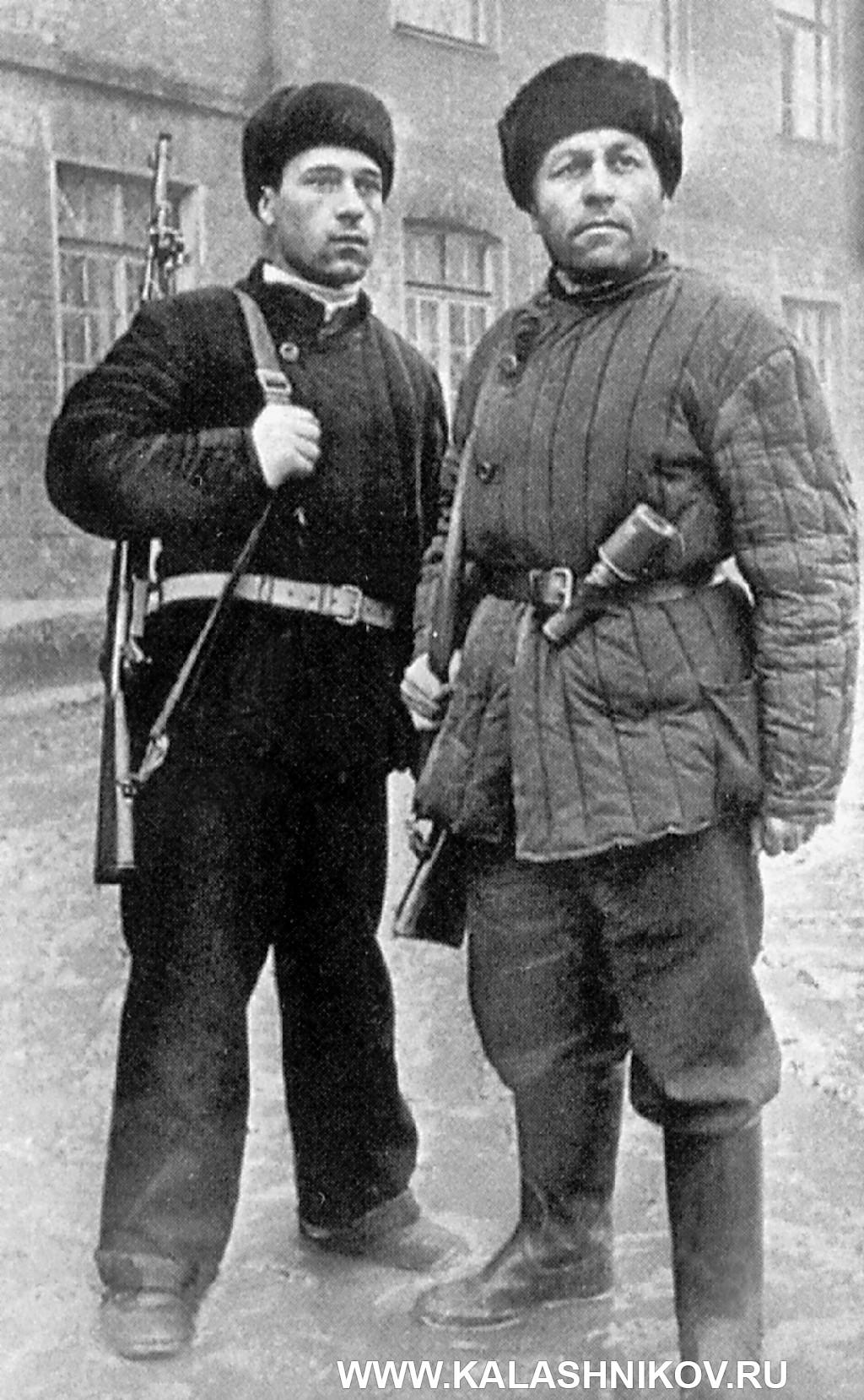 Бойцы Тульского Рабочего полка
