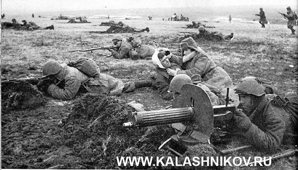 Архивная фотография с линии фронта Великой Отечественной войны