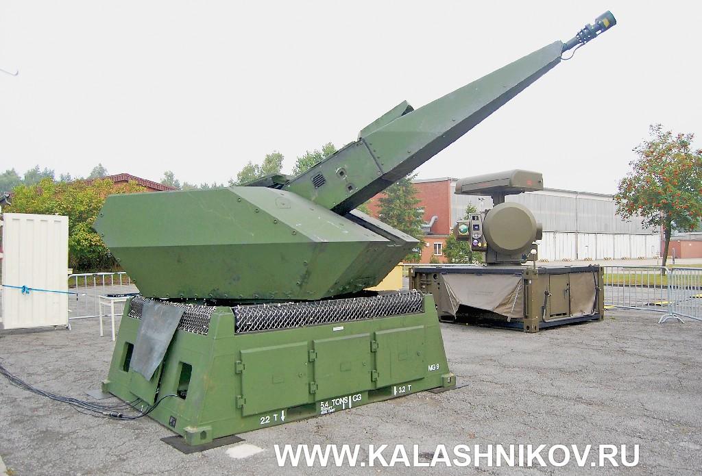 Система противовоздушной обороны C-RAM Mantis