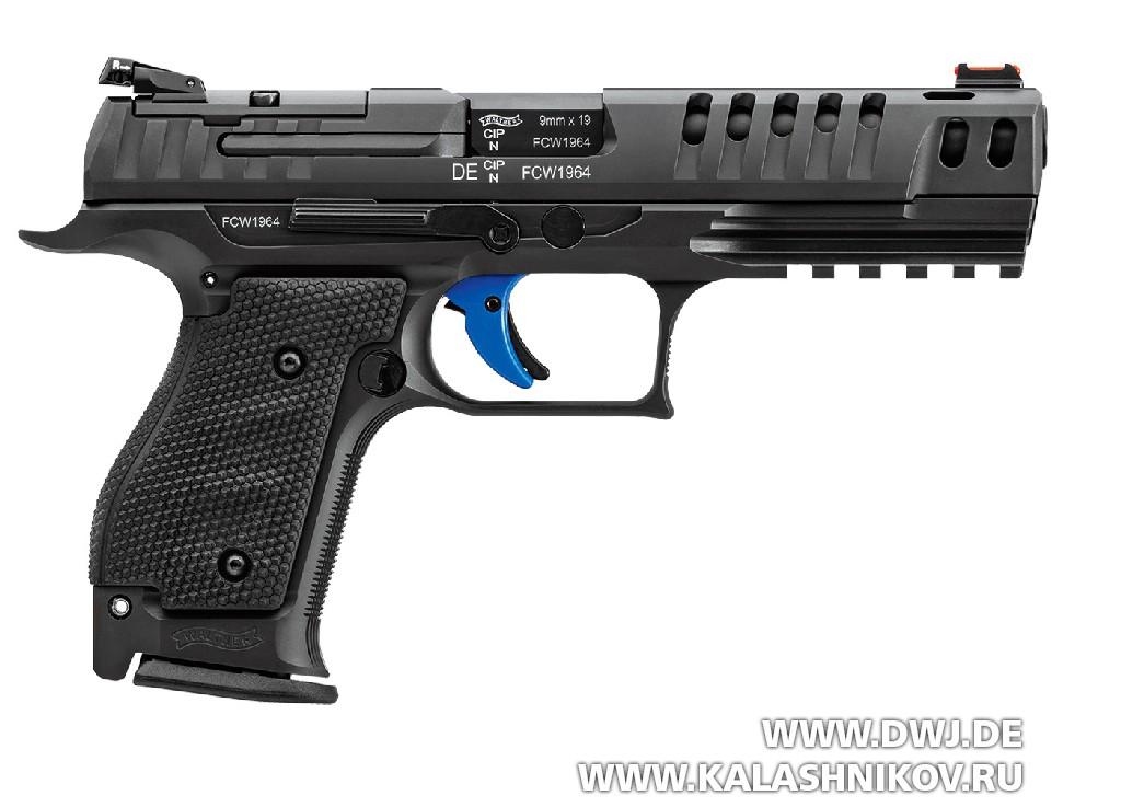 Walther Q5 Match SF, стальная рамка, пистолет для практической стрельбы, IPSC