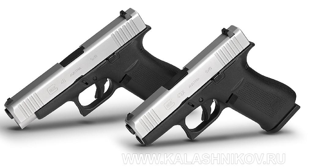 пистолеты Glock 43X и48 на выставке IWA 2019