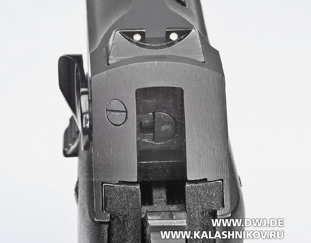 Пистолет Steyr GB целик