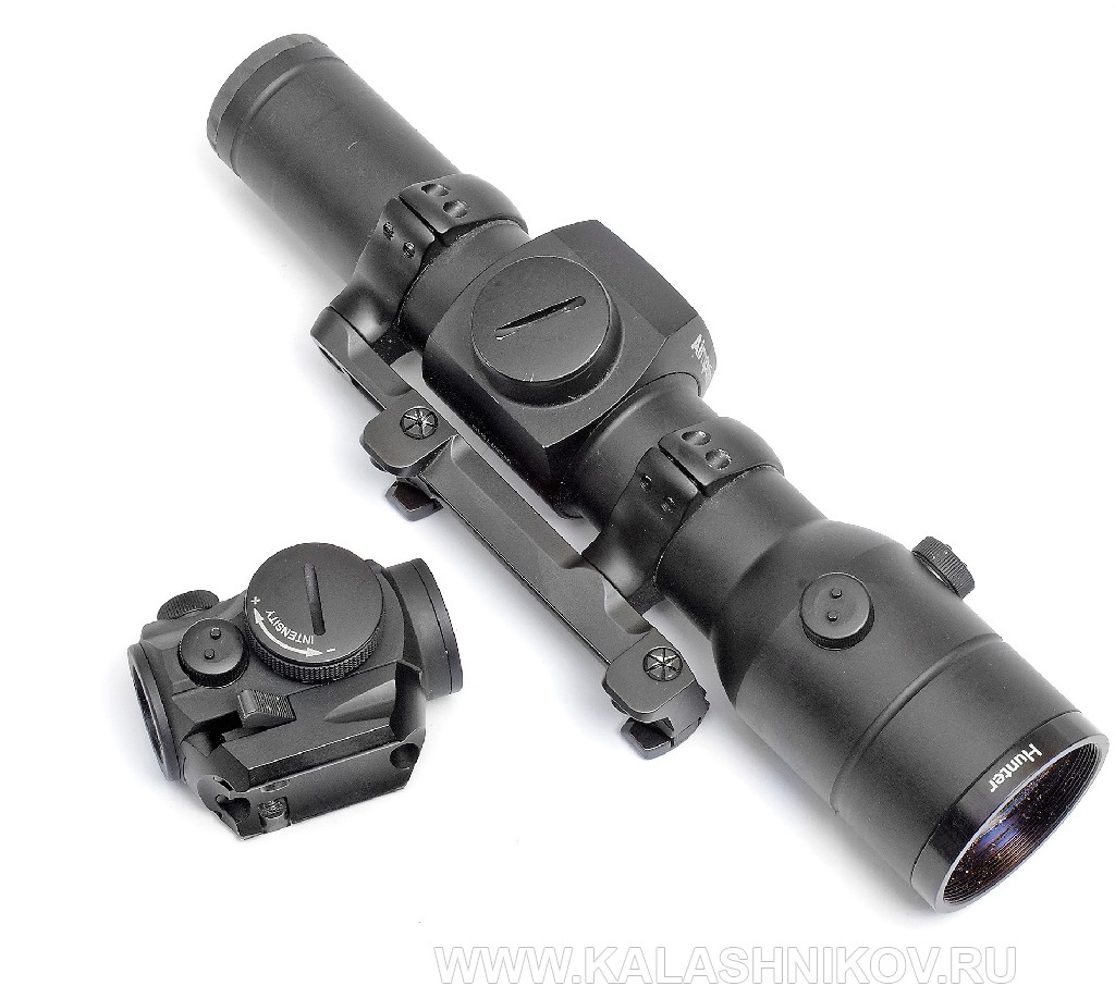 Aimpoin Hunter, red dot,  Aimpoin Micro H-1, коллиматорный прицел