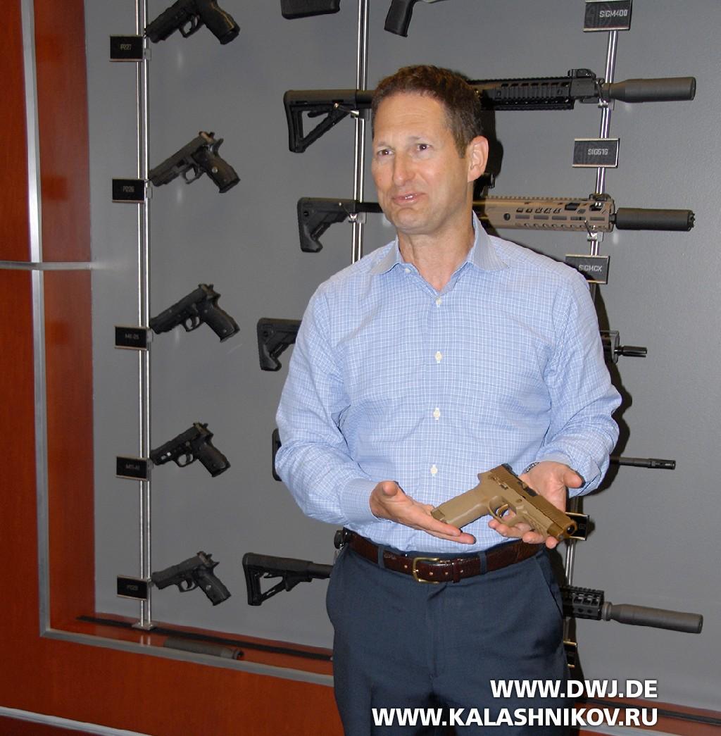 Рон Коэн— генеральный директор SIG Sauer Inc.