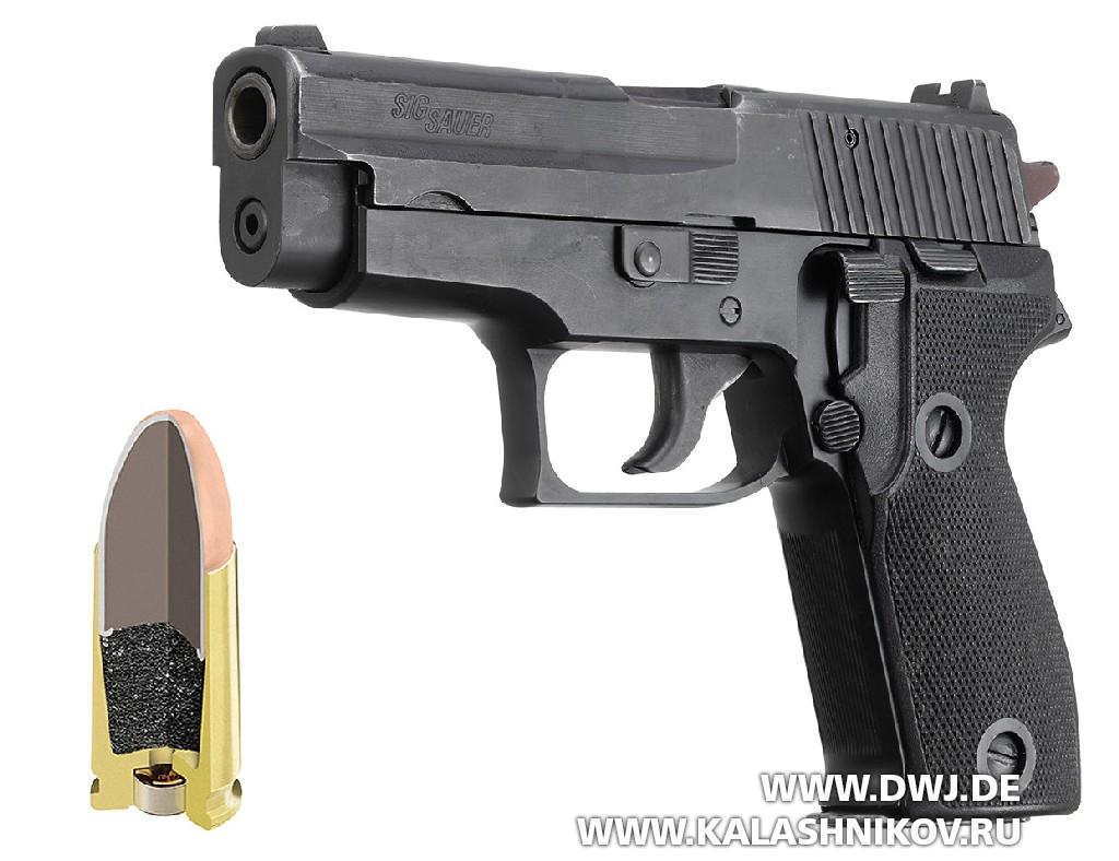 Пистолет P6 SIG Sauer