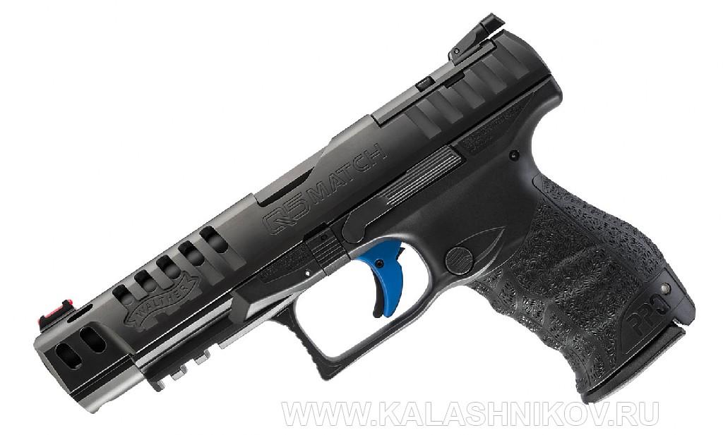 пистолет Walther  Q5 Match  Glock 43X и48 на выставке IWA 2019
