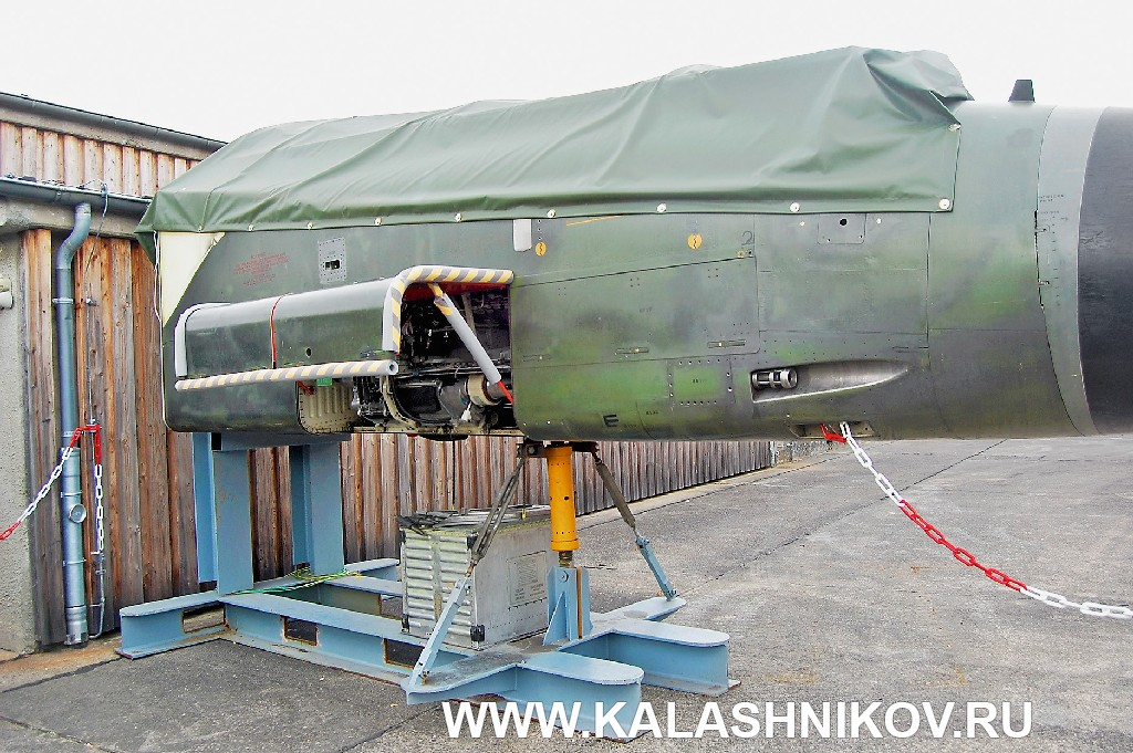Стенд для испытаний авиационного пушечного вооружения