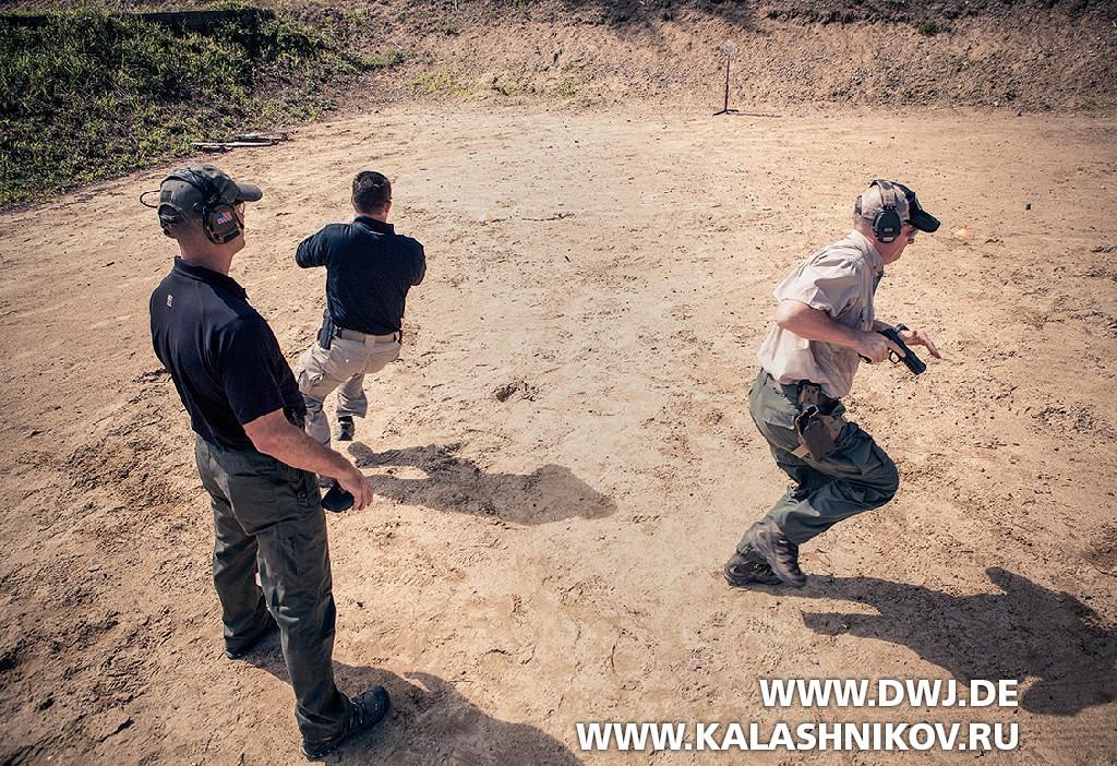 Тренировка полицейских сSIG Sauer