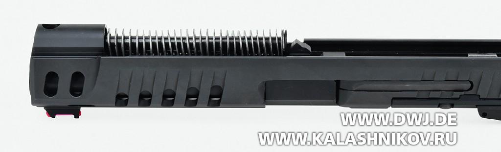 Walther Q5 Match SF, затвор, возвратный механизм