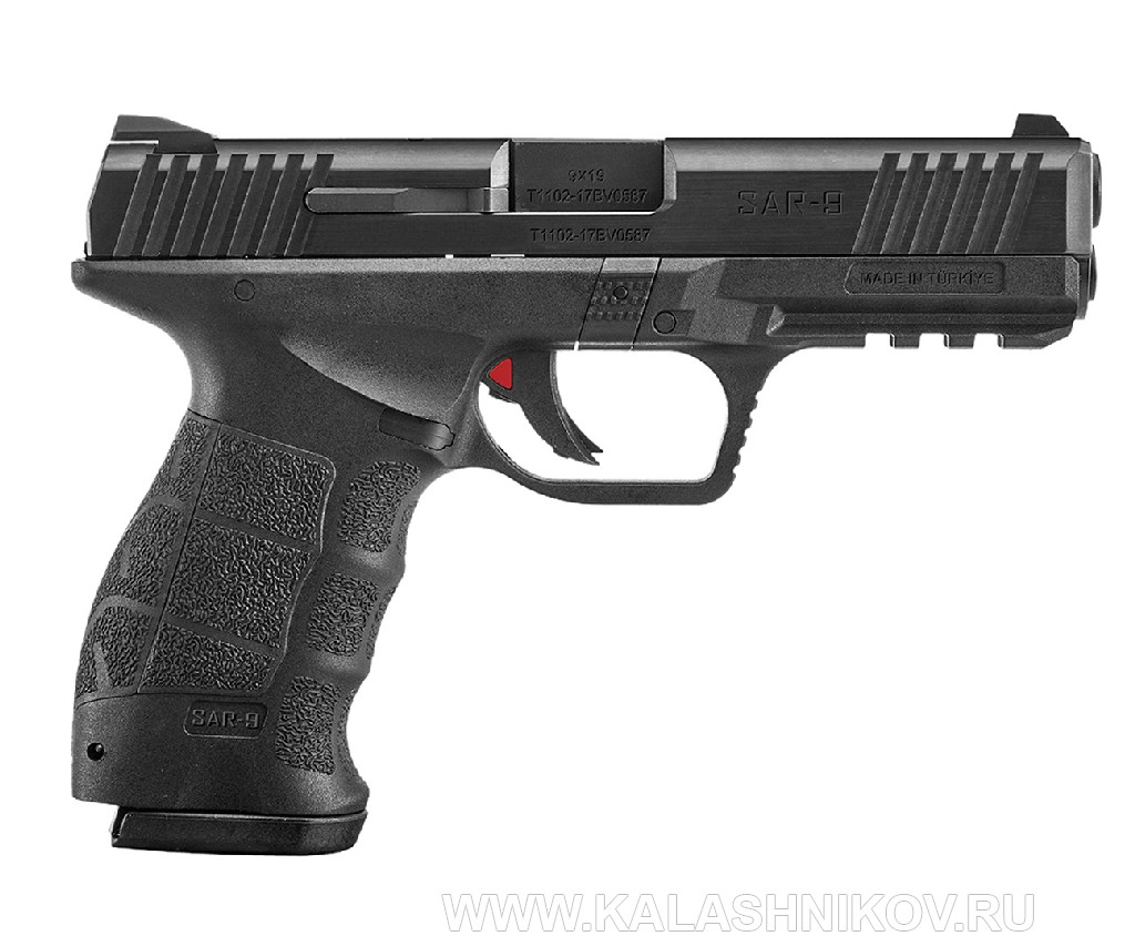 Пистолет Sarsilamaz SAR 9   на выставке IWA 2019