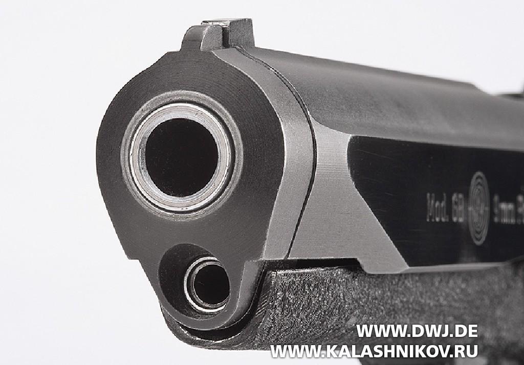 Пистолет Steyr GB дульная часть
