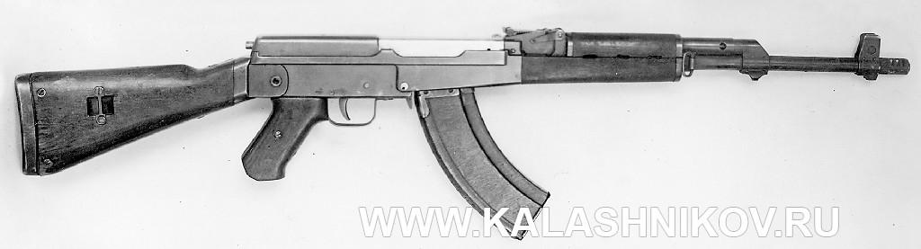 опытный Автомат Калашникова (АК-47), вариант 1