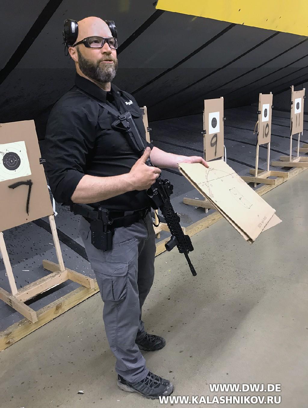 На стрельбище SIG Sauer