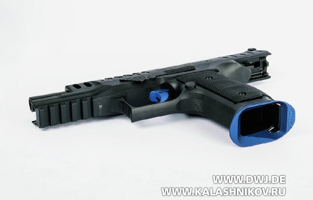 Walther Q5 Match, кнопка, приемник