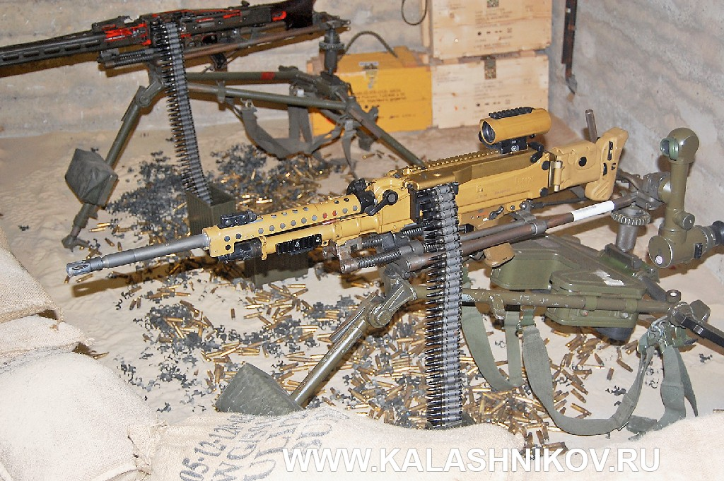 единый пулемёт MG5 (HK 121)