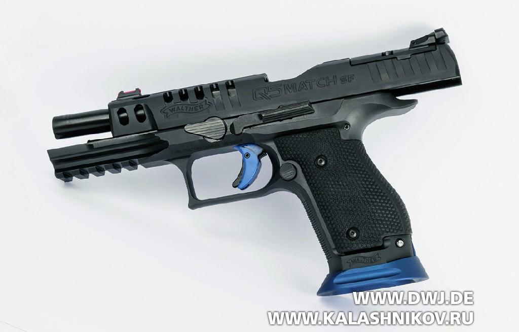 Walther Q5 Match, предохранитель, SF