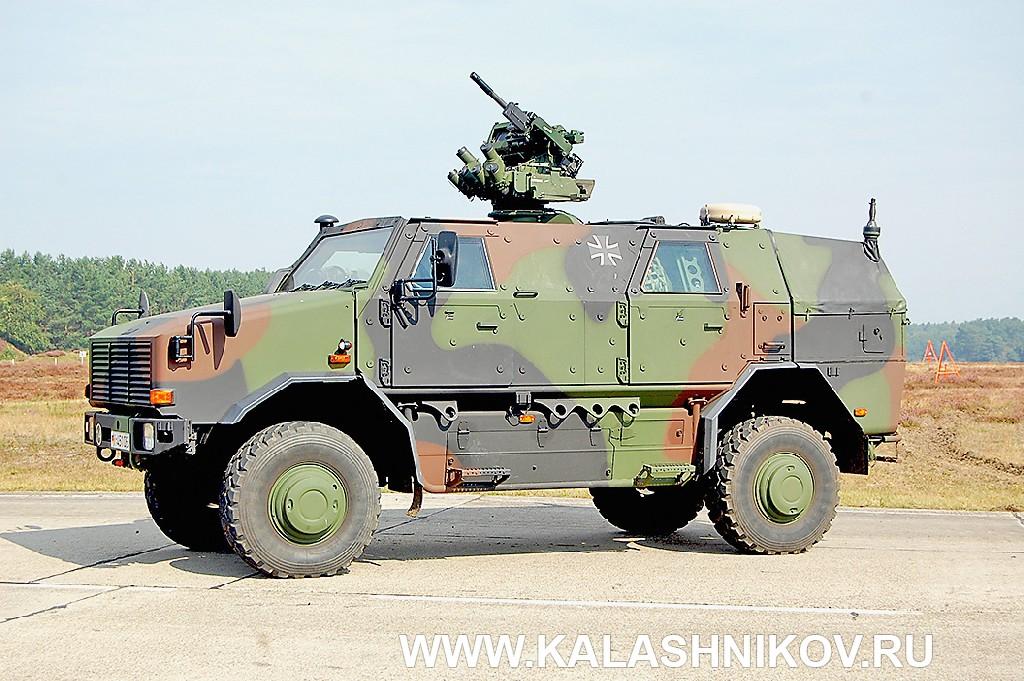 Многоцелевой бронеавтомобиль Dingo