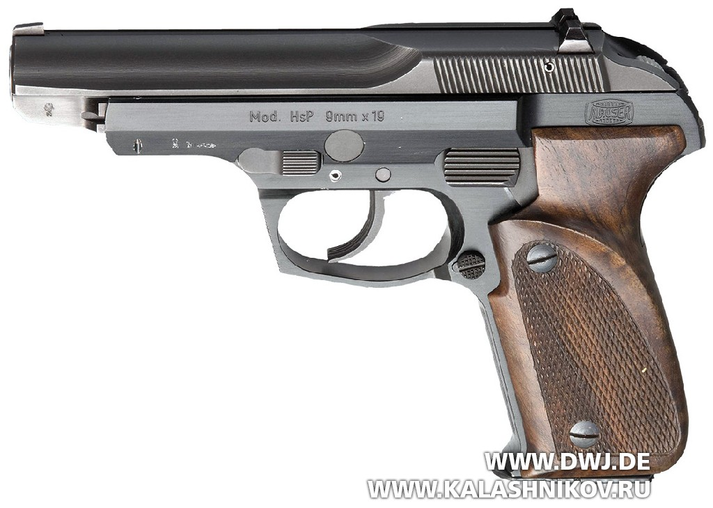 Пистолет Mauser HsP