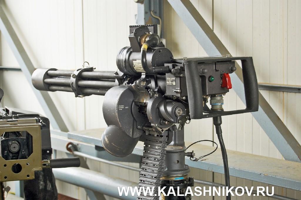 многоствольный пулемёт MG6