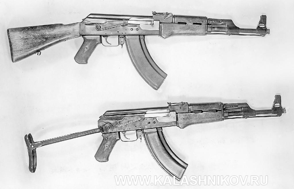 Внешний вид АК-47 1948 г