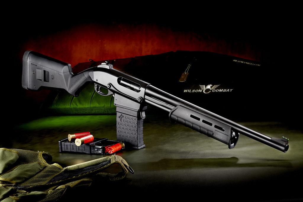 Помповое ружьё Remington 870DMMFS, коробчатый магазин