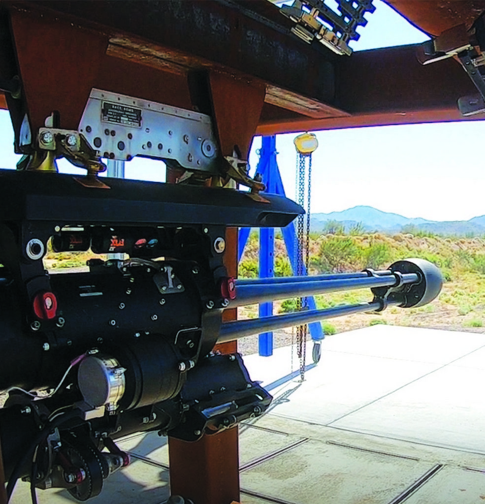 Пулемёт Dillon Aero 503D, испытания оружия