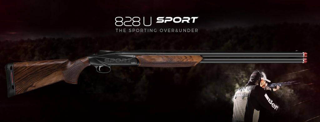 Benelli 828U Sport, спортивное ружьё, спортинг, стендовая стрельба