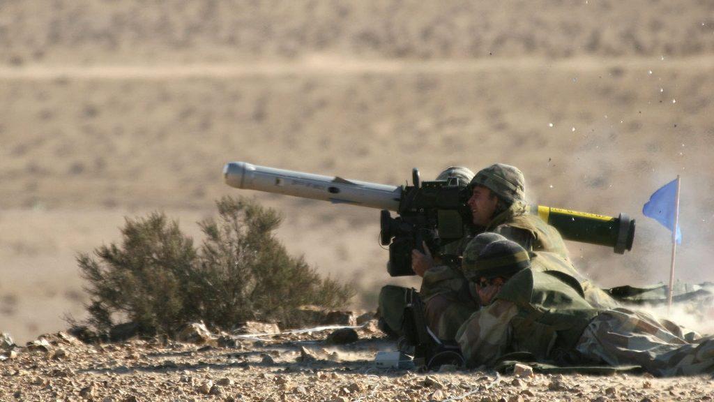 ПТУР Rafael Spike LR, пуск, противотанковый комплекс