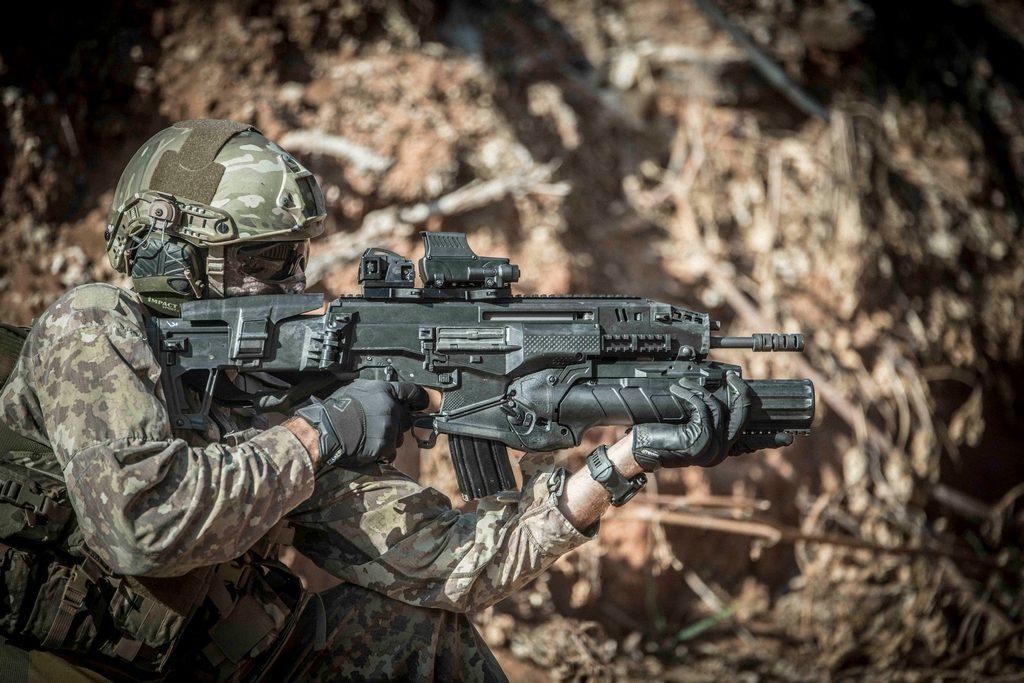 Штурмовая винтовка IWI Carmel, assault rifle