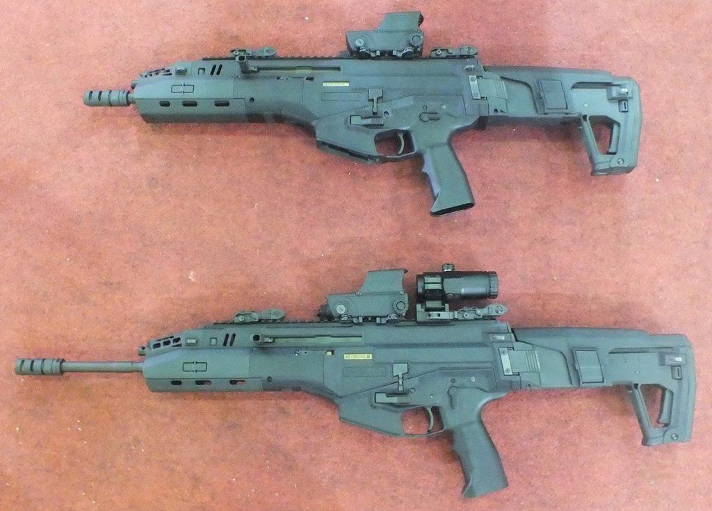 IWI Carmel, сменные стволы, модульная винтовка