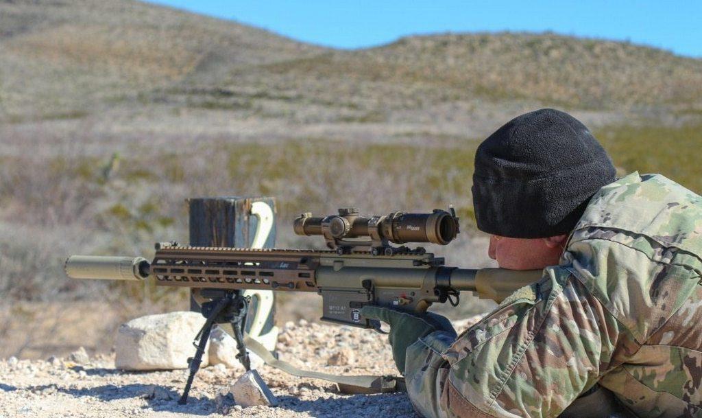 M110A1, assault rifle, SDMR, штурмовая винтовка